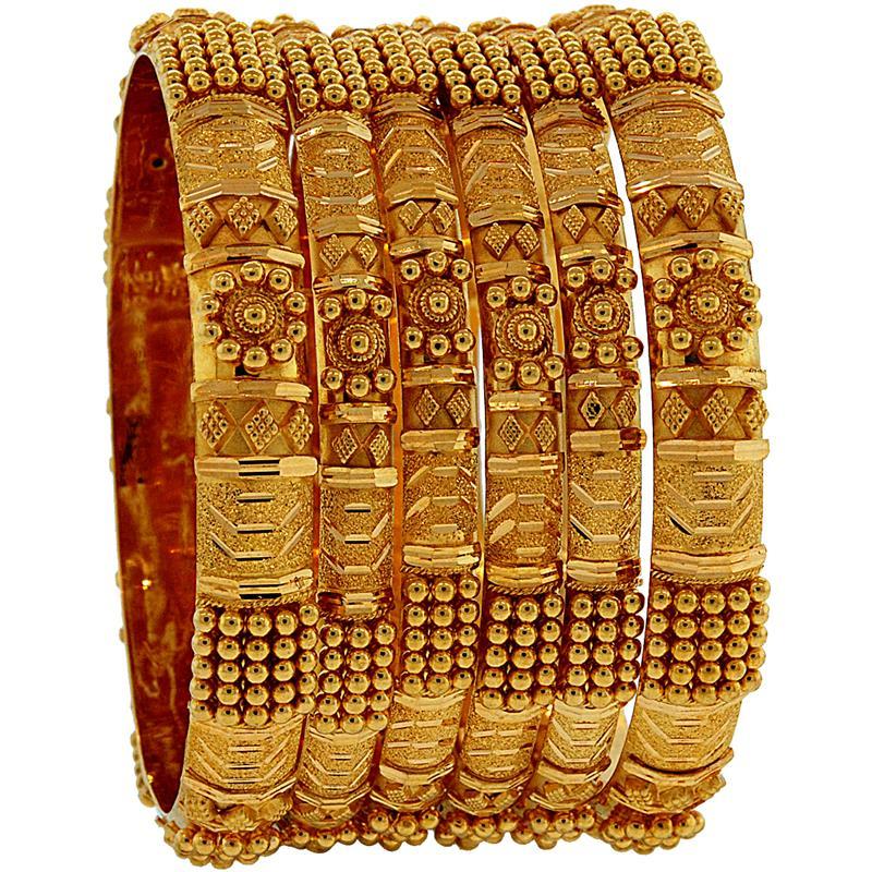 8d330106c 2.5 Size 22 Karat Gold Set Of Bangles